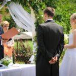 Svatba v areálu