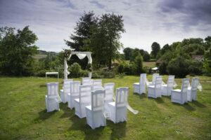 venkovní prostor pro svatby