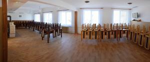 Společenský sál po rekonstrukci