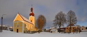 Smilovy Hory - kostel
