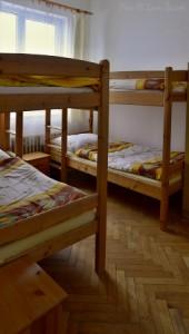 Pokoje v ubytovně
