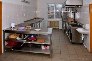 Vybavená kuchyň v turistické ubytovně
